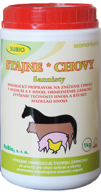 STAJNE A CHOVY – Sannisty (SanniStable) 1 kg